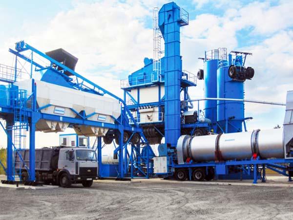 80t asphalt mixing plant portable