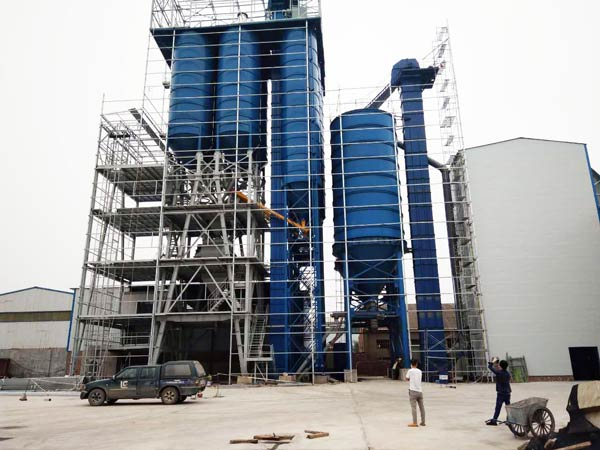Big Dry Mortar Plant Machine
