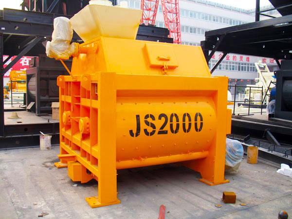 JS serise concrete mixer