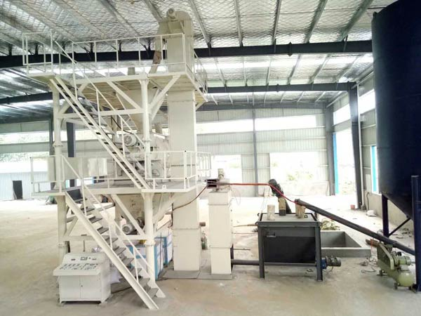 Middle Automatic Dry Mortar Plant Equipment