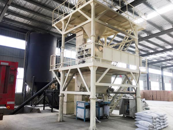 Middle Automatic Dry Mortar Plant