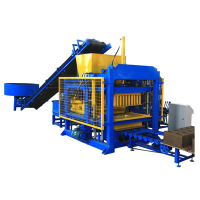 ABM-8S interlocking brick making machine