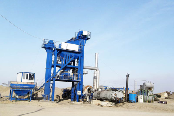 100t/h asphalt hot mix plant