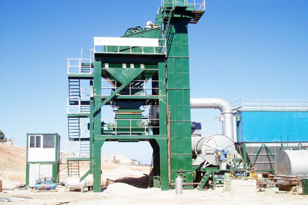 160t/h hot asphalt plant for sale