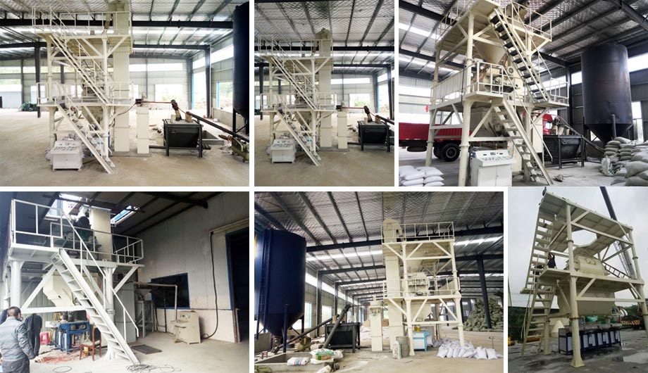 Aimix Tile Adhesive Manufacturing Plant in South Africa