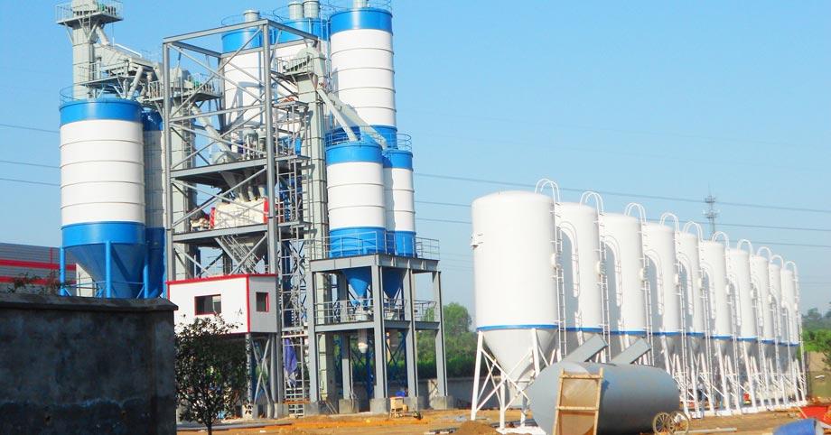 Aimix tile adhesive manufacturing plant