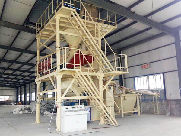 Small Tile Adhesive Production Plant