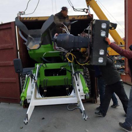 packing self loading mixer