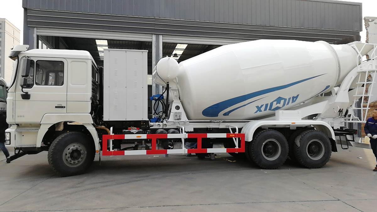 12 m3 concrete mixer truck