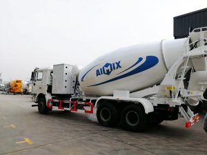 12 m3 concrete mixing truck