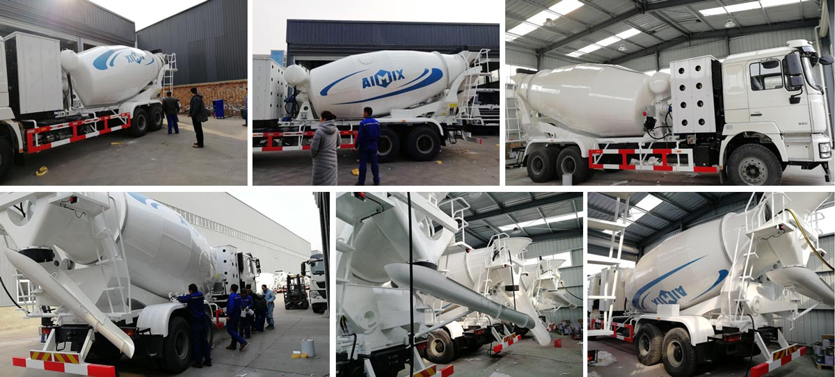 Concrete Truck Delivered to Uzbekistan