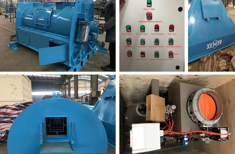 Dry mortar mixer and packing machine to Bangladesh