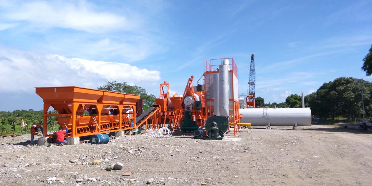 Sample Format of 60 tph Asphalt Plant in The Philippines