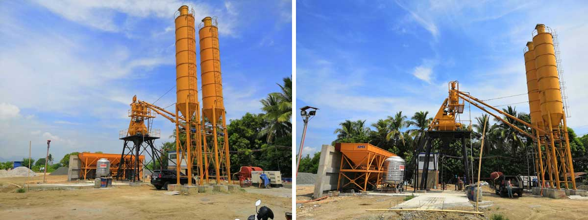 concrete mixer plant Philippines - Manila