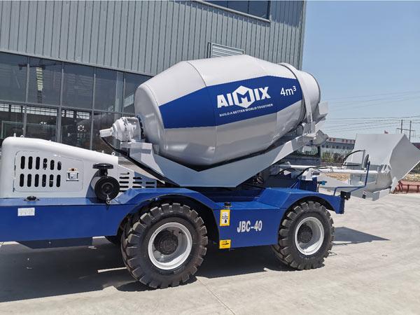 AI4000 self loading mixer