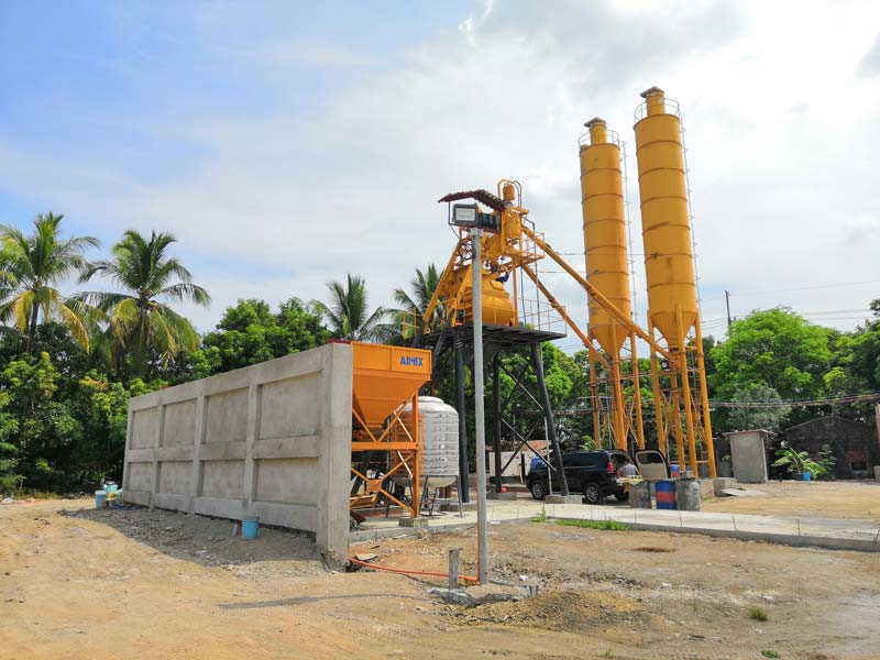Concrete Mixing Plant in Philippines