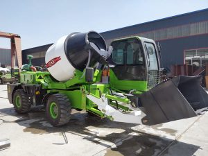 AI1800 self loader concrete mixer