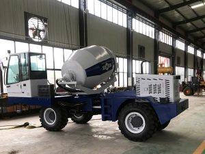 Test Self Loading Concrete Mixer