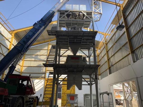Dry Mortar Mixing Plant