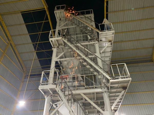 Installing Tower Type Dry Mortar Plant