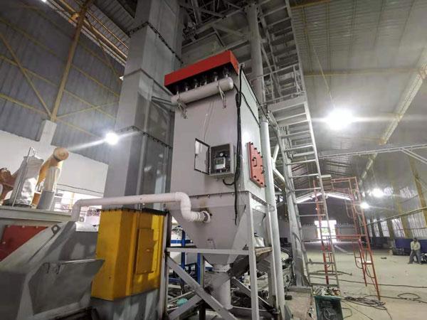 Testing Dry Mortar Mix Plant