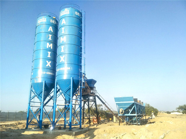 Aimix Concrete Plant Installed in Pakistan