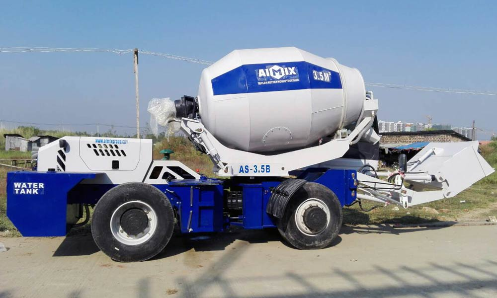 Assembling Self Loading Mixer on Site