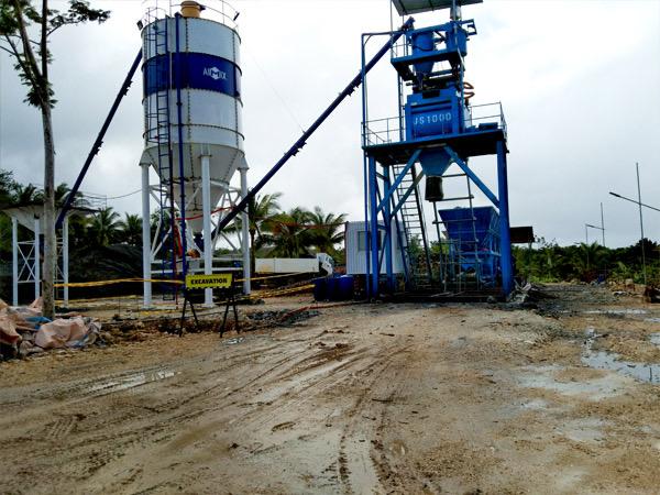 AJ50 Concrete Plant