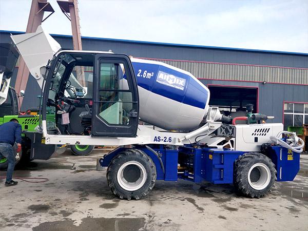 AS-2.6 Self Loading Concrete Mixer