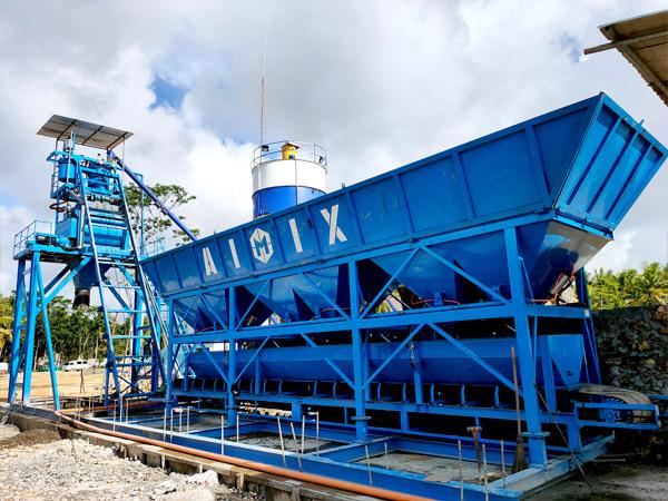 Aimix AJ50 Concrete Batching Plant