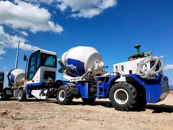 Self Loading Concrete Mixer in the Philippines
