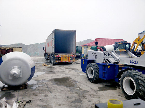 loading self loading mixer