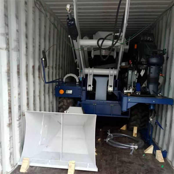 unloading self loading mixer