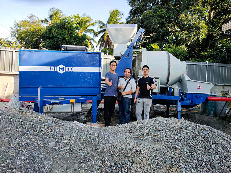 Aimix Concrete Mixer Pump in the Philippines