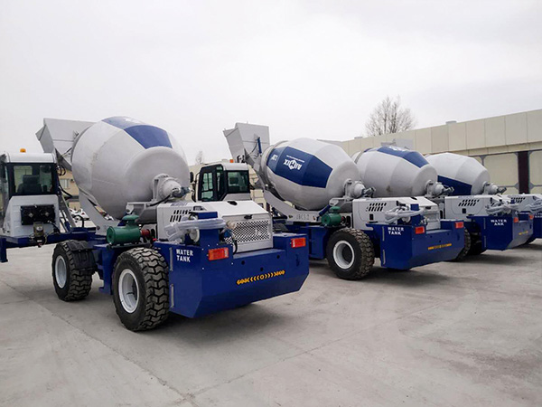 self loading mixer in Uzbekistan
