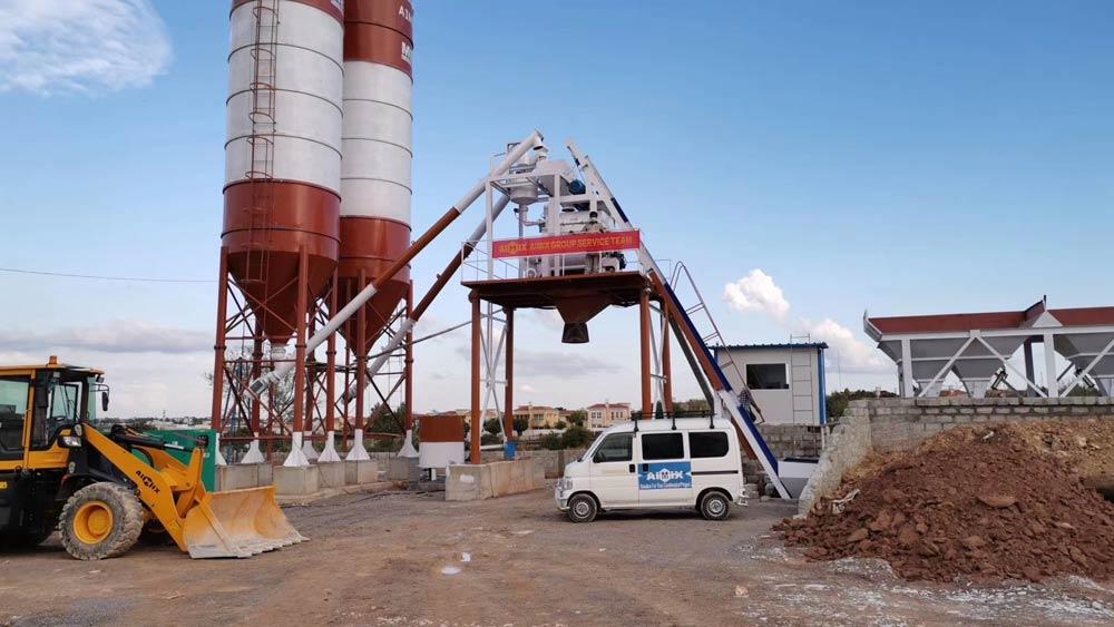 Aimix AJ50 Concrete Plant in Pakistan
