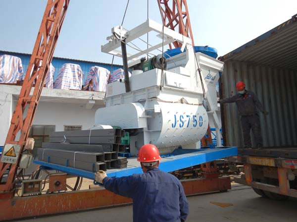 Concrete Mixer Packing