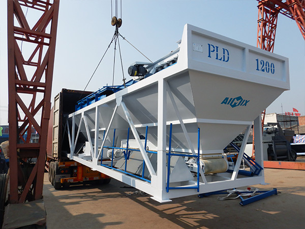 Loading Concrete Batching Machine