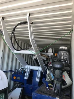 Aimix self loading mixer
